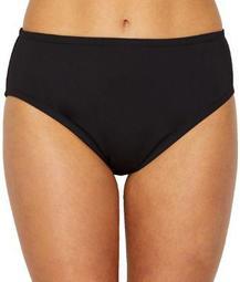 24th & Ocean Womens Solid Smoothing Bikini Bottom Style-TF9G699