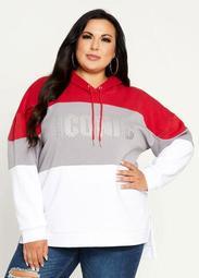 Iconic Studded Oversize Sweatshirt