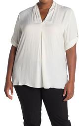 Ina V-Neck Top (Plus Size)