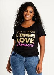 Love Is Permanent Graphic Tee