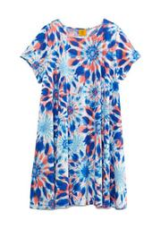 Plus Size Must Haves III Sunburst Tie Dye Dress