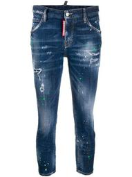 Cool Girl cropped skinny jeans