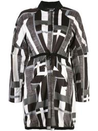 taisho stripe drawstring jacket