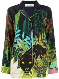 Mirrored Orchid Ramage print shirt