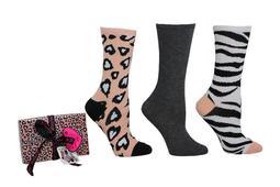 Betsey Johnson Crew Sock Gift Box