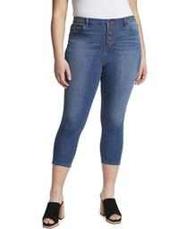 Women's Plus High Rise Skinny Crop Jean