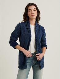 Open Quilted Jacket