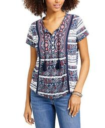 Plus Size American Picnic Printed Top, Created for Macy's