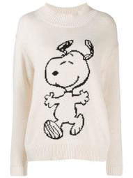 roll neck Snoopy jumper