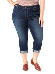 Signature by Levi Strauss & Co. Womens Plus Size Modern Capri