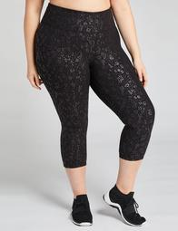 LIVI Signature Stretch Active Capri Legging