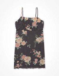 AE Mesh Slip Mini Dress