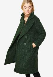 Double-Breasted Teddy Coat by ellos®