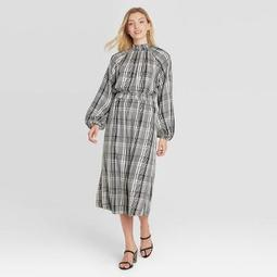 Women's Long Sleeve Smocked Dress - A New Day™