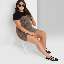 Women's Double Slit Bodycon Dress - Wild Fable™