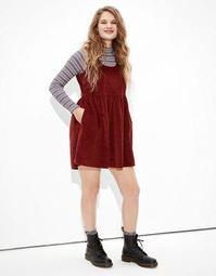 AE Corduroy Babydoll Dress