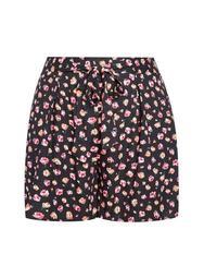 **DP Curve Tropical Print Shorts