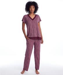 Aubergine Modal Pajama Set