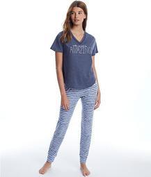 Off The Cuff Amazing Knit Pajama Set