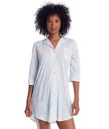 Mint Paisley Woven His Shirt Sleep Shirt