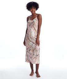 Marble Collection Silk Long Gown