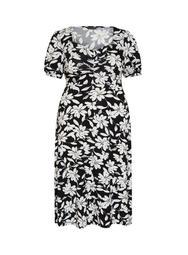 **DP Curve Multi Colour Floral Print Midi Dress
