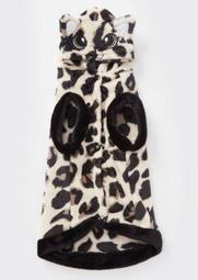 Leopard Print Cat Plush Pet Onesie