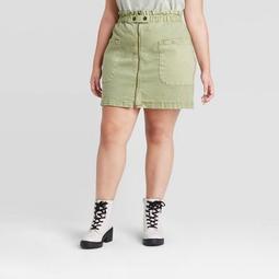 Women's Plus Size A-Line Mini Skirt - Universal Thread™
