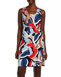Americana Graphic Print Dress