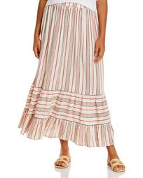 Tiered Striped Skirt - 100% Exclusive