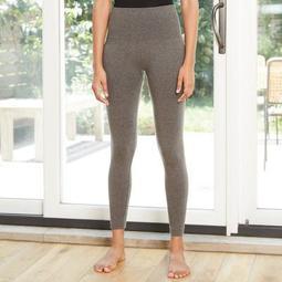 Women's Seamless High-Waist Fleece Lined Leggings - A New Day™