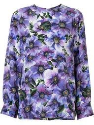 anemone print blouse