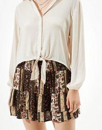 AE Tiered Ruffled Mini Skirt