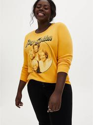 The Golden Girls Gold Fleece Crew Sweatshirt