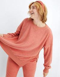 Aerie Good Vibes Sherpa Sweatshirt