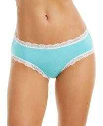 Cotton Lace Trim Hipster Underwear, Created for Macy's