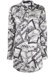 printed long shirt