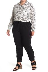 Pull-On Ponte Joggers