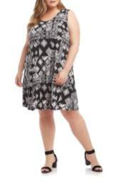 Geo Printed Chloe Dress