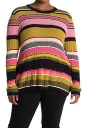 Kennedy Striped Pullover Sweater