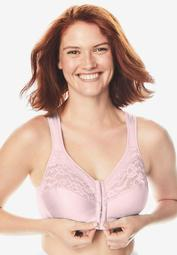 Easy Enhancer® Wireless Front Hook Cotton Bra by Comfort Choice®