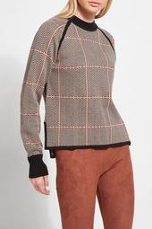 Lysse Camel Herringbone Sweater