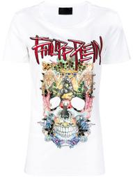 embellished skull T-shirt