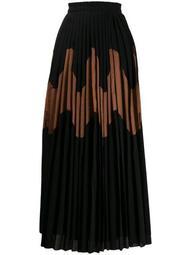 Malindy pleated skirt