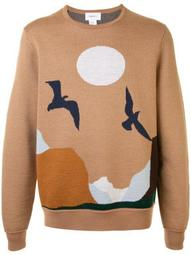 long sleeve landscape jumper