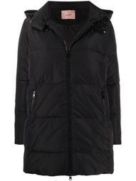 embellished padded coat