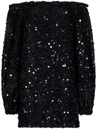 Gloria sequin-embellished mini dress