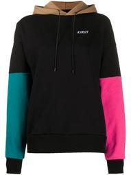 colour-block hoodie
