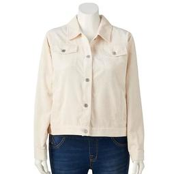 Plus Size LC Lauren Conrad Corduroy Jacket