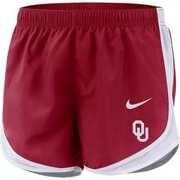 Women's Nike Crimson Oklahoma Sooners Tempo Performance Shorts
